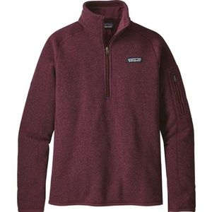 NWT Patagonia Better Sweater Pullover 1/4 Zip